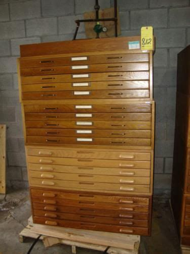 map drawer cabinet wood 5 drawer stackable oak wood map file cabinet 24 quot x36 quot