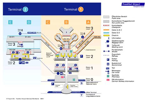 frankfurt airport airport layouts  germany