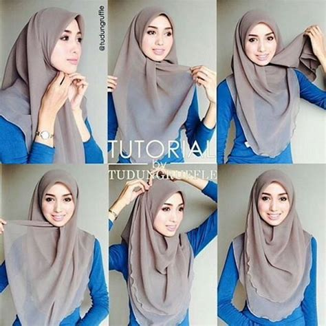 tutorial hijab segitiga best 25 tutorial hijab segitiga ideas on pinterest