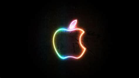 imagenes hd neon apple neon logo fondos de pantalla hd fondos de