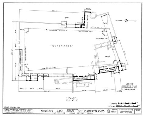 mission san juan capistrano floor plan mission san juan de capistrano site plan clippix etc educational photos for students and teachers