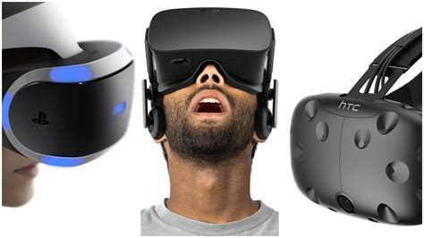 Kumpulan Headset Gaming oculus rift vr vs playstation foto 2017