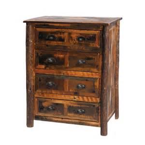 barnwood 4 drawer chest