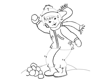 free printable dot to dot winter easy connect the dots az coloring pages