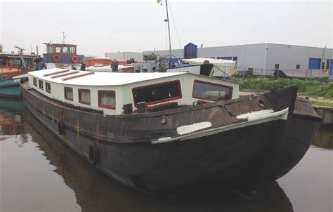 woonboot te koop maasbracht verbouwing tot woonschip koopmans ijzerwerk