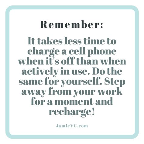 A Time To Recharge by Recharge Yourself Jamievc