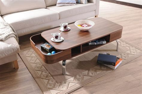 stylish table modern coffee table with drawers adorable home
