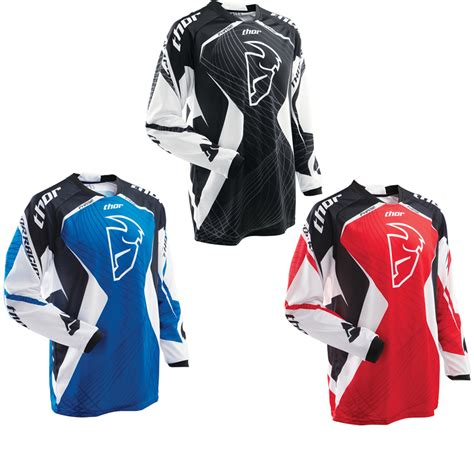 thor motocross jerseys thor phase s12 spiral motocross jersey motocross jerseys