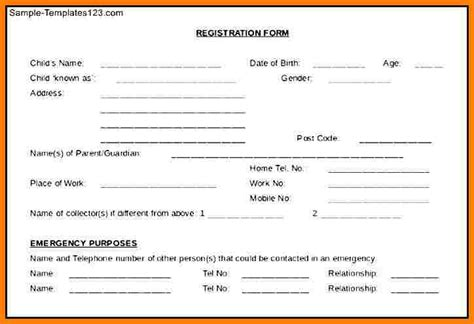 14 free printable child medical consent form letter