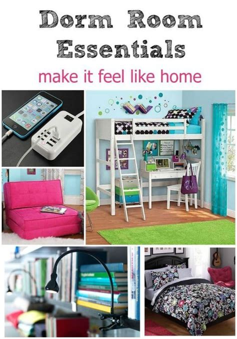 college room essentials room essentials make it feel like home kid home and