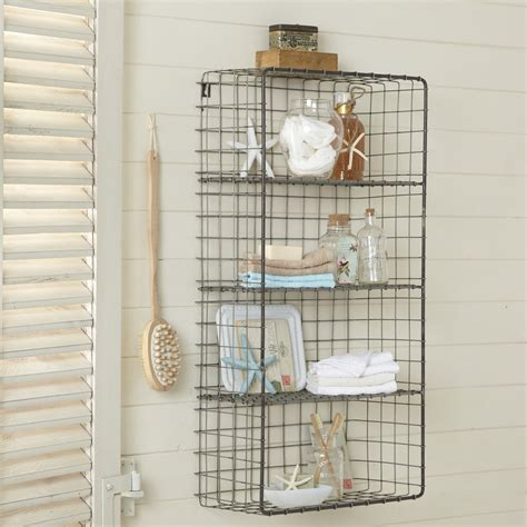 bathroom wire shelving wire shelves the treasure well designed