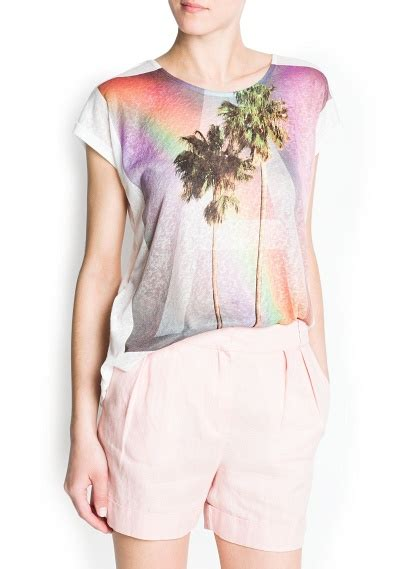 Gfw Up Cq Faves Bronagh Holme by Palm Print T Shirt 8 Stylish Printed T Shirts To