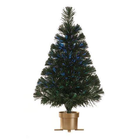 galaxy 60cm fibre optic tree 70 tips green 60cm usb fibre optic gold led tree buy at qd stores