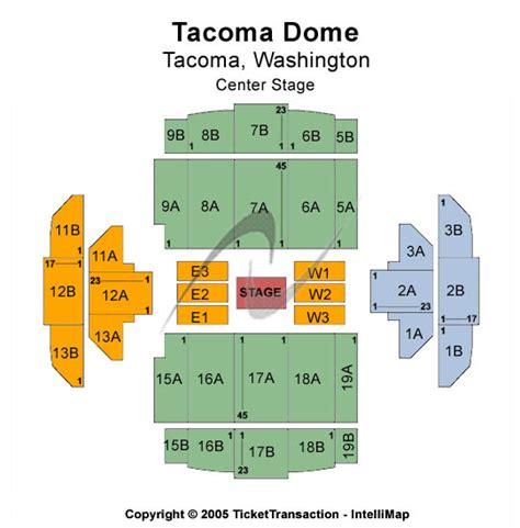 tacoma dome seating map cheap tacoma dome tickets