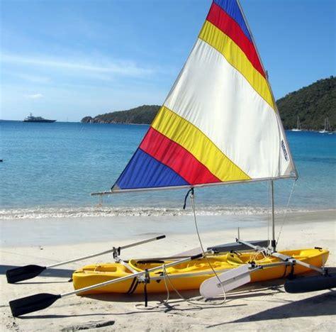 kayak sailboat sailboats to go 187 any kayak upwind sail kit
