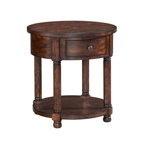 Oak End Tables Broyhill Attic Heirlooms Rustic Oak End Table Ebay