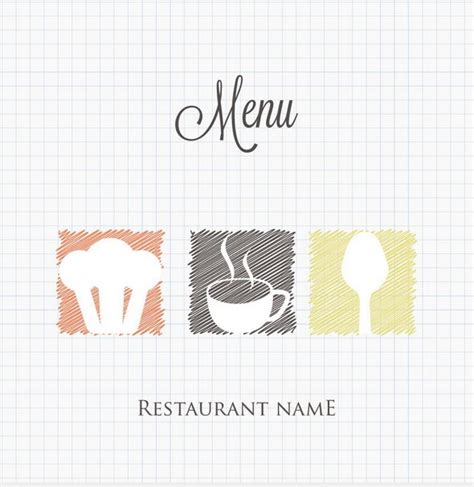 menu cover template 15 free restaurant menu templates covers designscrazed