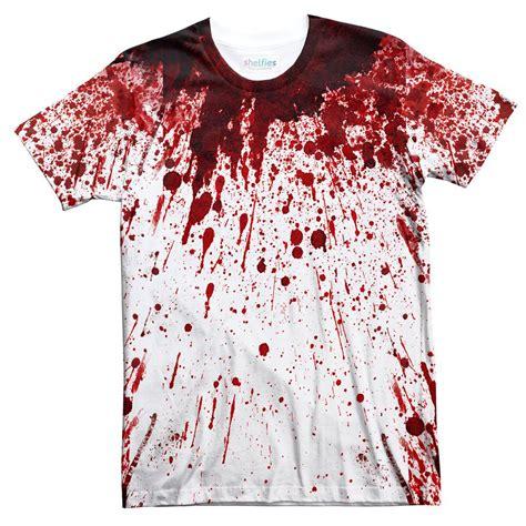 Blood A White Shirt by Blood Splatter T Shirt Shelfies