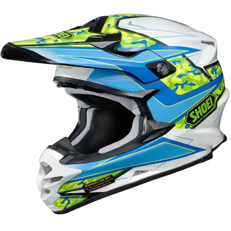 shoei motocross helmet 2016 shoei vfxw helmet turmoil tc2 dirtbikexpress