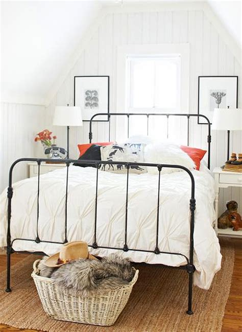 Decorating Bedrooms With Metal Beds iron beds honestly