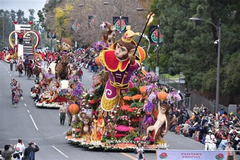 pasadena tournament of roses participants 2018 rose parade float participants announced pasadena