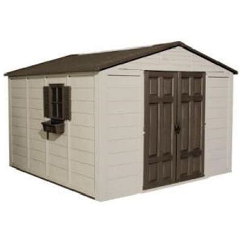 suncast 10 x 10 shed from home depot sheds structures outdoor