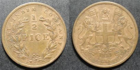 anémone cing my coin collection east india company copper coins