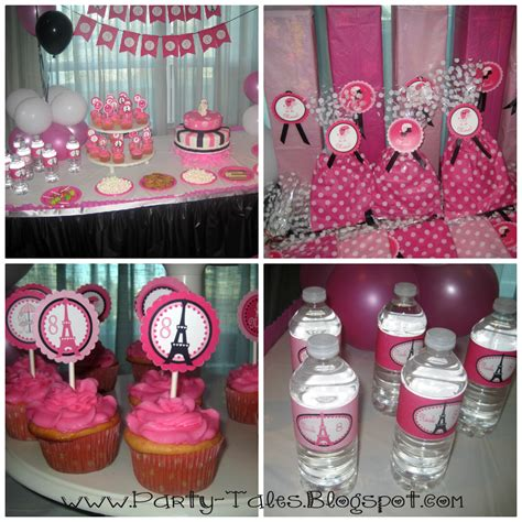 party themed paris party tales birthday party a parisian birthday brunch