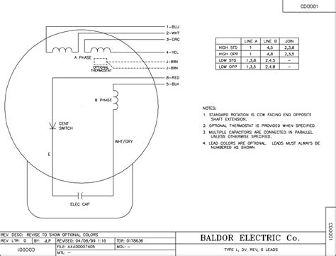 baldor industrial motor wiring diagram wiring diagram