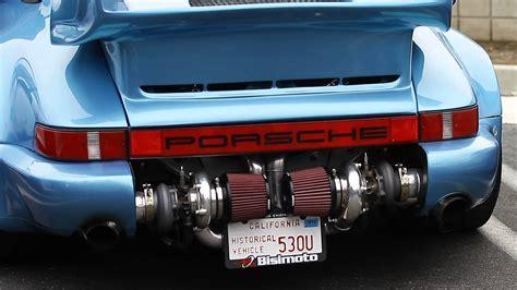 twin turbo porsche rwb porsche 964 turbo image 2