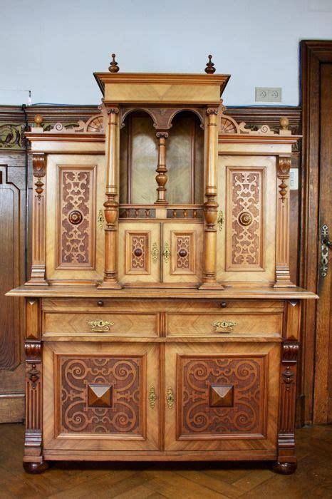 5 Pc Neo Renaissance neo renaissance sideboard in oak belgium or germany ca 1890 catawiki