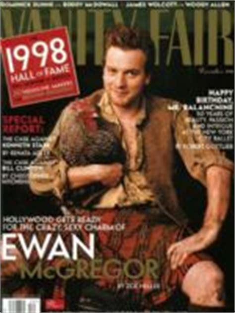 1998 vanity fair magazine covers articles interviews
