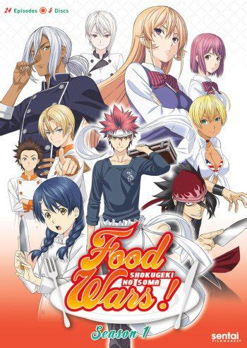 I Anime Food Wars by Food Wars Shokugeki No Souma Anime Planet