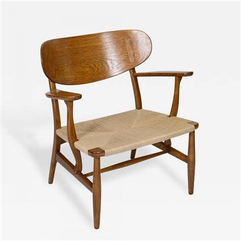 Hans Wegner Lounge Chair by Hans Wegner Hans Wegner Ch 22 Lounge Chair