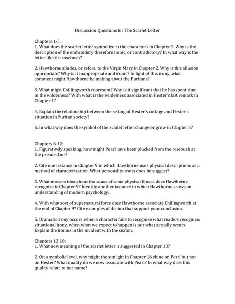 Sparknotes For The Scarlet Letter Chapter 13 Scarlet Letter Chapter 13 Summary Scarlet Letter
