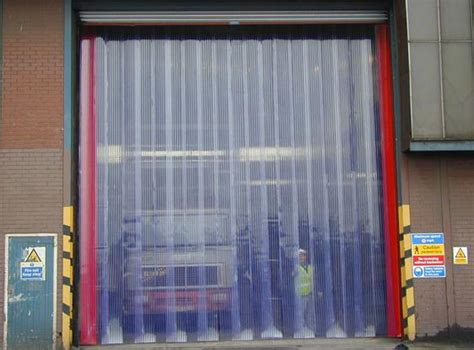 vinyl curtain door plastic strip doors doors