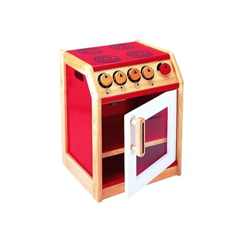 Tidlo Wooden Kitchen by Children S Wooden Play Kitchen Cooker By Tidlo T 0156