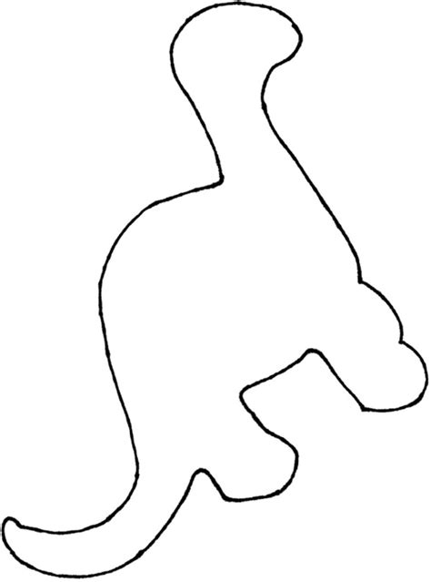 dinosaur footprint template clipart best
