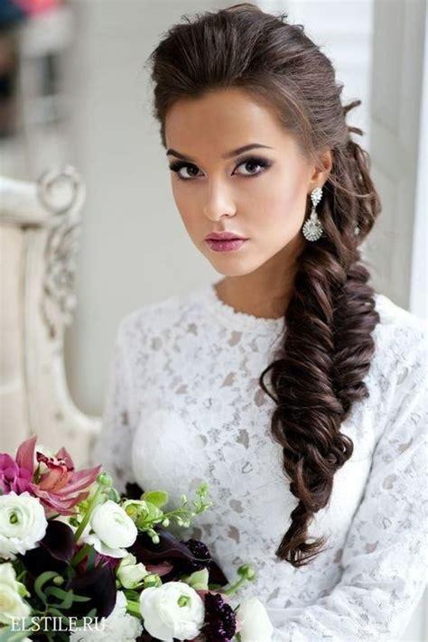 Best 25  Wedding hairstyles side ideas on Pinterest