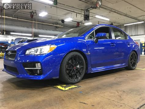 subaru brat lowered 2017 subaru wrx bbs ci r hr lowered on springs