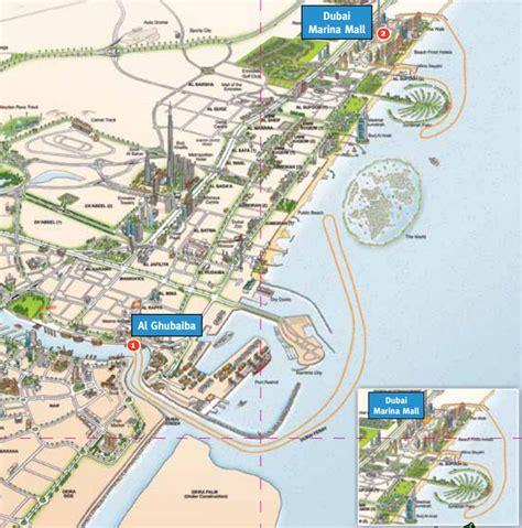 boat club road map dubai ferry routes