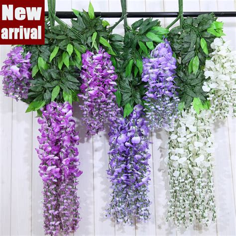 Buy Grosir Floral Dekorasi Supplies From China popular wisteria vines buy cheap wisteria vines lots from