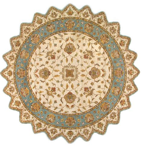 8x8 wool rug rugsville ziegler beige light blue wool square 10429 8x8 rug traditional area rugs by