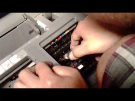 cara mereset printer epson t1100 cara melepas head printer epson t1100 youtube