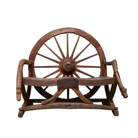 wheel bench wagon wheel bench taxidermy mounts for sale and