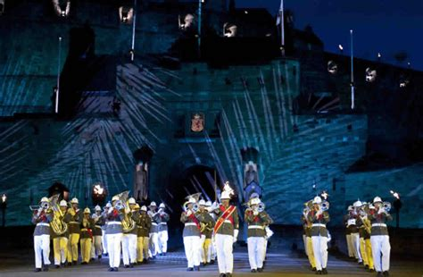 edinburgh tattoo tickets melbourne british brigadier shares the royal edinburgh military tattoo