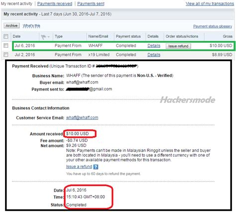 buat akun paypal whaff second payment from whaff rewards proof remaja