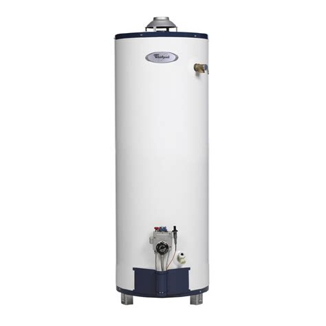 Water Heater Gas Niko shop whirlpool 40 gallon 6 year gas water heater gas at lowes