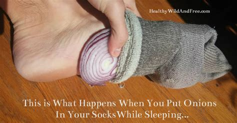 Onions In Socks To Detox this is what happens when you put cut up onions in your