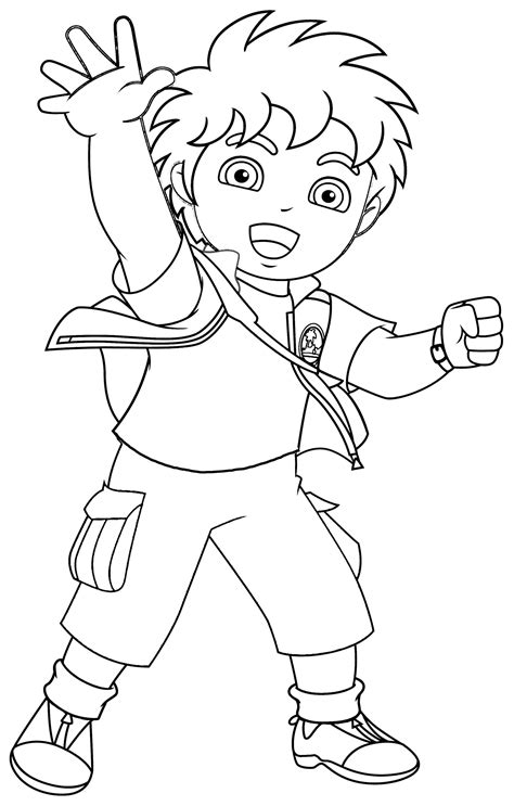 diego coloring pages nick jr nick jr coloring pages 8 coloring kids